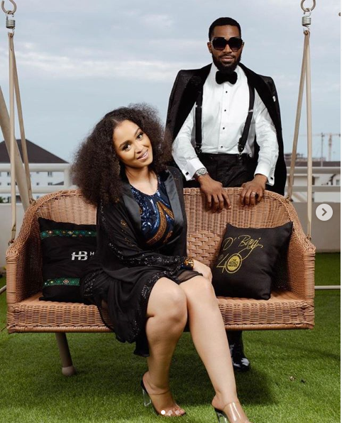 D'banj Shower Accolades On Wife, Didi Lineo, On His 40th Birthday