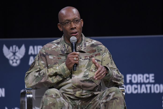 Gen. Charles Brown Becomes 1st Black Military Service Chief In America