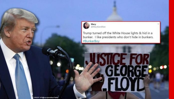 Why I Went To White House Bunker During #GeorgeFloydProtests – Trump