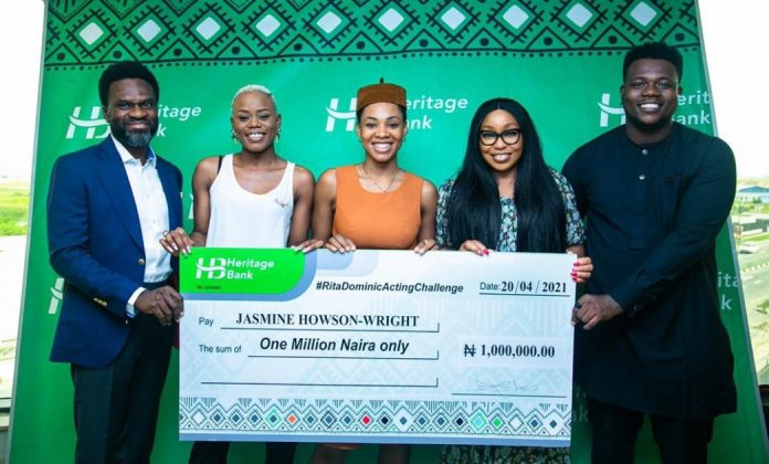 """Heritage Bank promotes creative industry with support for """"Rita Dominic Acting Challenge"""